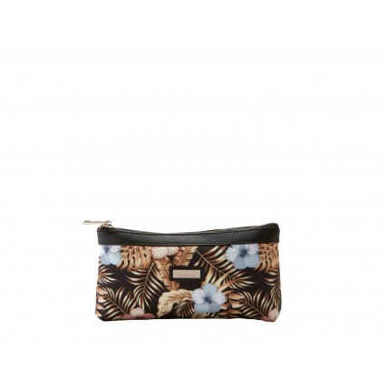Tropical Large Cosmetic Purse