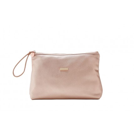 FAYETTE - COSMETIC BAG - ROSE GOLD
